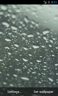 Rain Live Wallpaper - screenshot thumbnail