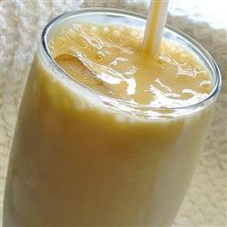Honey-Mango Smoothie.