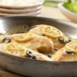 Lemony Olive Chicken