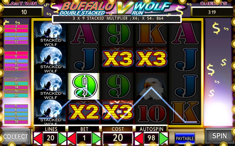 free online slot machines wolf run  app
