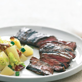 Balsamic Marinated Skirt Steak.