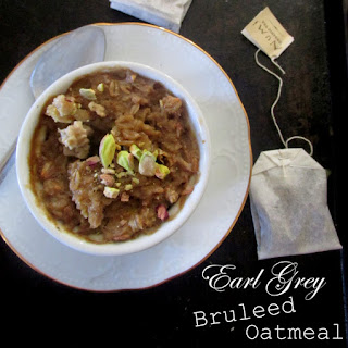 Earl Grey Bruleed Oatmeal.
