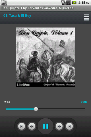 Don Quijote Vol.1 Librivox