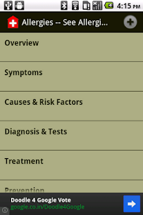 General Health Info - screenshot thumbnail