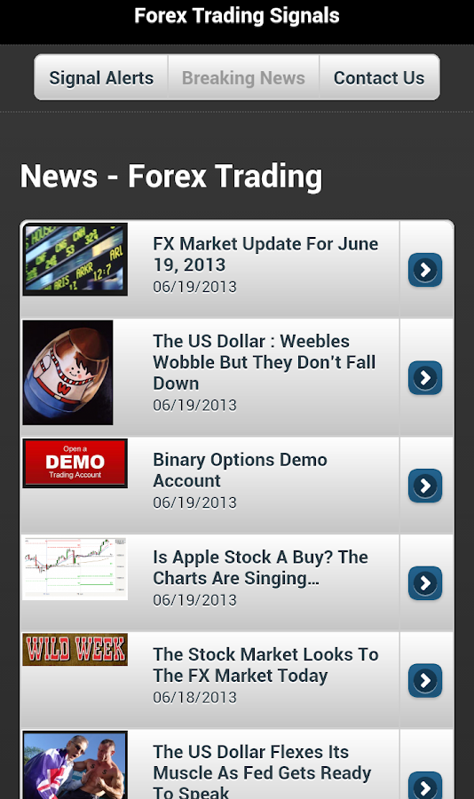 Forex Trading Signals - Android Apps on Google Play