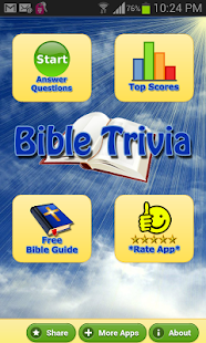 Bible Trivia Quiz Free Bible G - screenshot thumbnail