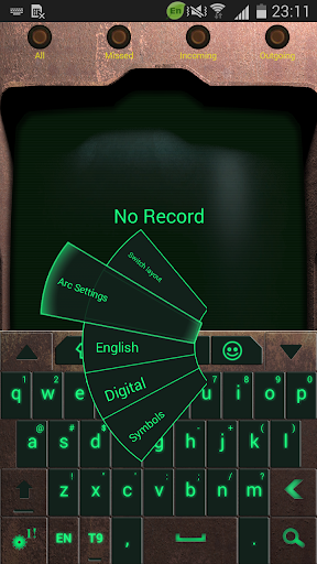 Go Keyboard Nuclear Fallout 3k