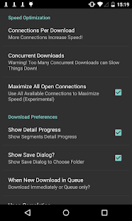 Turbo Download Manager - screenshot thumbnail