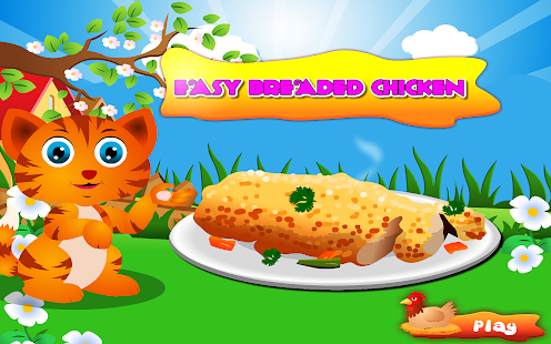 Cooking Easy Breaded Chicken- screenshot thumbnail