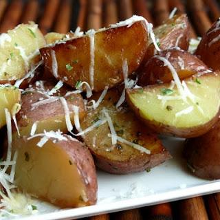 Cheesy-Italian Pressure Cooker Potatoes.