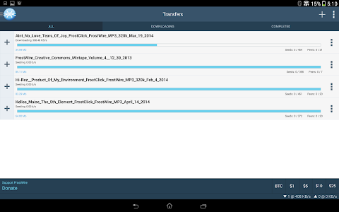 FrostWire - Torrent Downloader v1.5.5