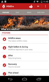 Wildfire - American Red Cross Screenshot 2