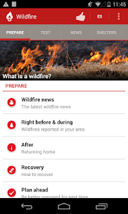 Wildfire - American Red Cross - screenshot thumbnail