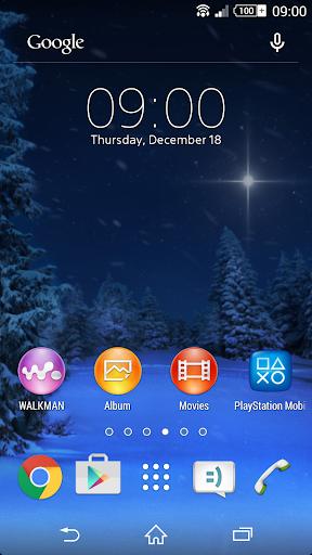 Diggin Winter Live Wallpaper