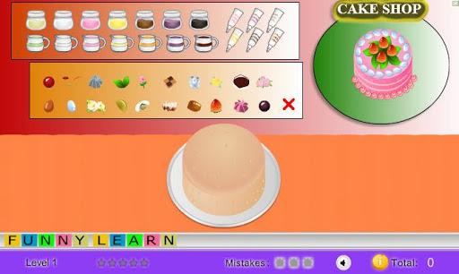 ケーキメーカーゲーム