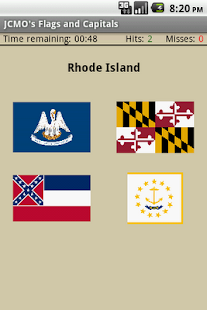 JCMO's Flags and Capitals - screenshot thumbnail