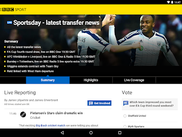 BBC Sport Screenshot 2