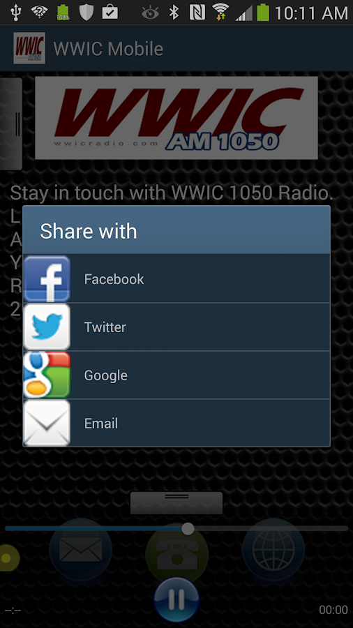 WWIC Mobile - screenshot