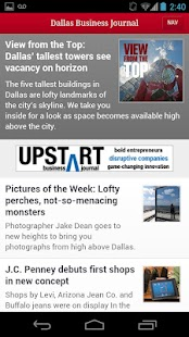 The Dallas Business Journal- screenshot thumbnail