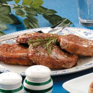 Rosemary Pork Chops.