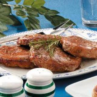 Rosemary Pork Chops.