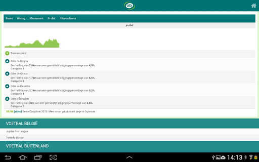 sporza 5.1 screenshots 11