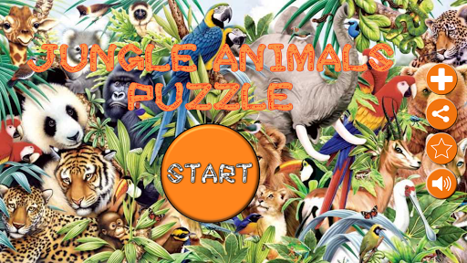Animals Puzzle - Jungle