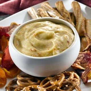 Italian Honey Mustard Pretzel Dip.