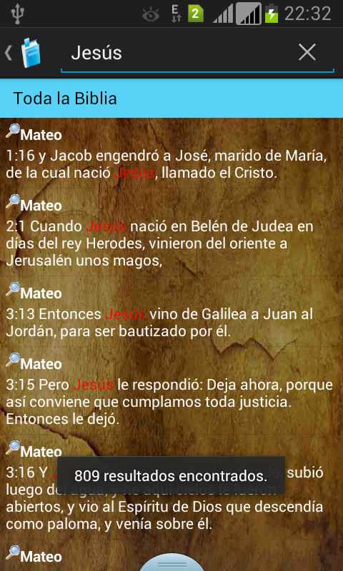 Santa Biblia RVR1960- screenshot