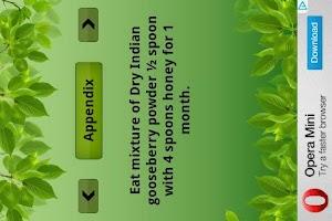Screenshot of Ayurveda - Cures n Remedies