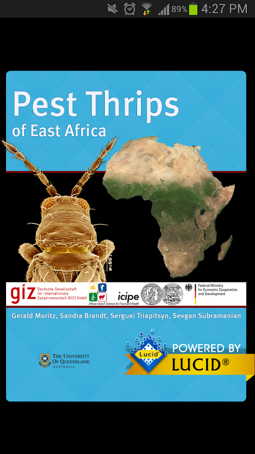 Pest Thrips of East Africa- screenshot