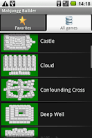 Screenshot of Mahjongg Builder
