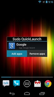Sudo QuickLaunch- screenshot thumbnail