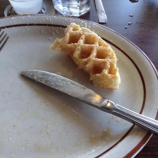 Waffle combo, delish!