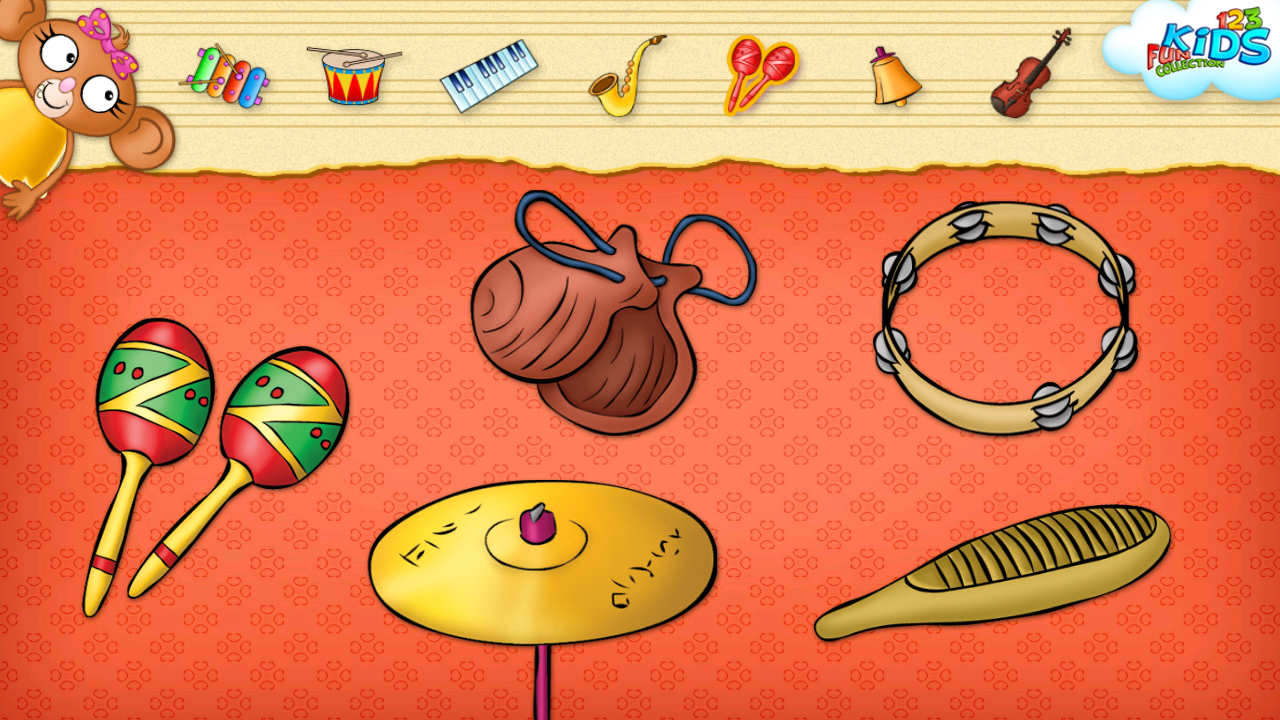 123 Kids Fun MUSIC - screenshot