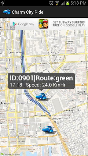 【免費交通運輸App】Charm City Transit Services-APP點子