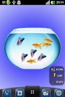 Screenshot of My Fish Bowl Live Aquarium