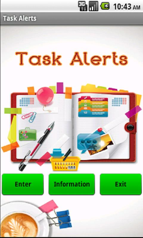 Task Alerts To Do List - screenshot