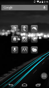 Glasklart - Icon Pack - screenshot thumbnail