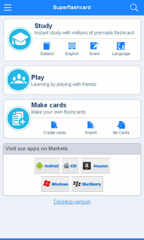 GED Flashcards - screenshot