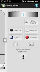 Easy PC Control- screenshot thumbnail