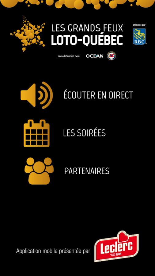 Grands Feux Loto Québec 2014 - screenshot