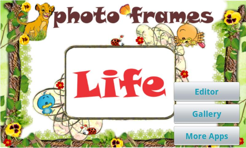 Life Photo Frames - screenshot
