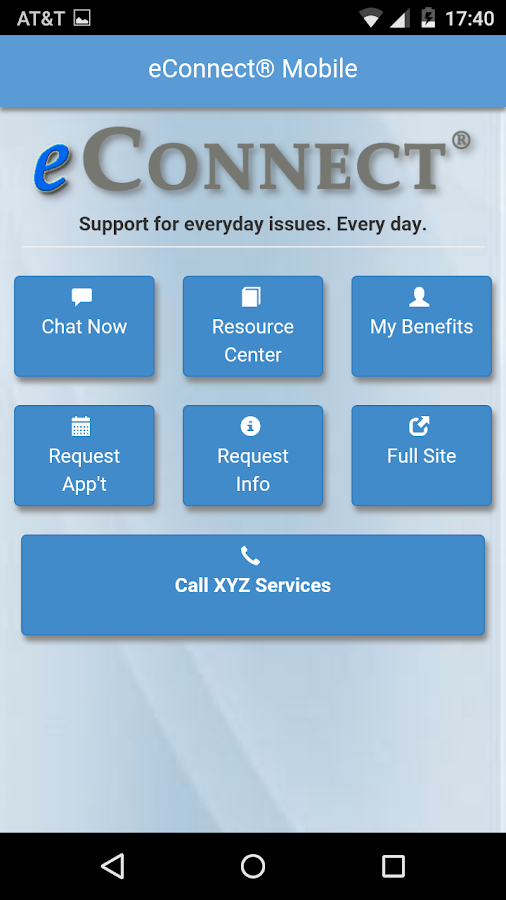 eConnect® Mobile- screenshot