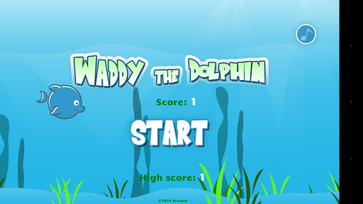 Waddy the Dolphin