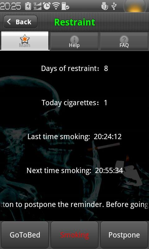 Green Quit Smoking - screenshot