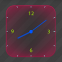 Glowing Analog Clock icon