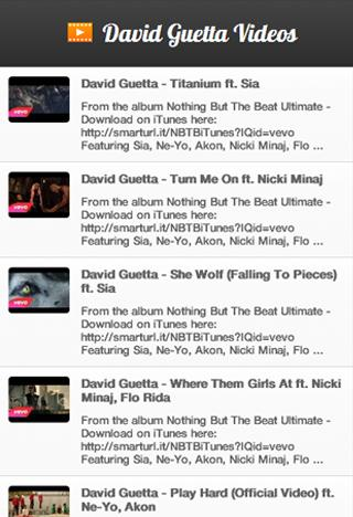 David Guetta Videos - screenshot