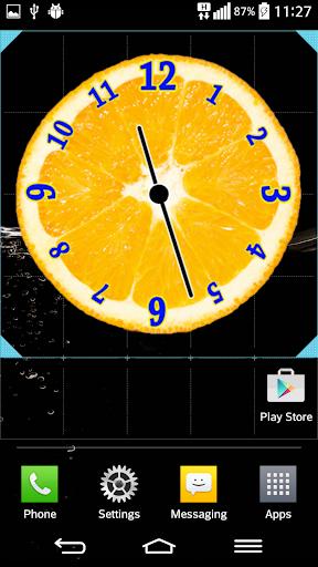 果汁水果 模擬時鐘