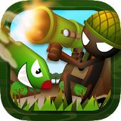 Stickman Bazooka War Shooter